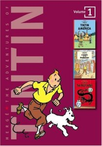 Adventures of Tintin Graphic Novel