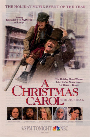 Scrooge Month Day 14: Kelsey Grammer in A CHRISTMAS CAROL: THE ...